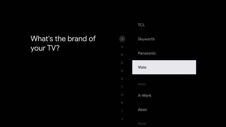 choose your tv brand
