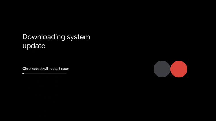 allow system update to download