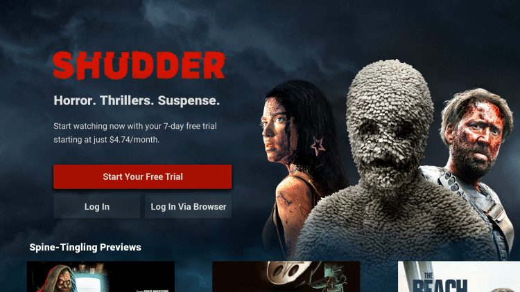 That's it! You have successfully installed the Shudder TV app on your Roku device.