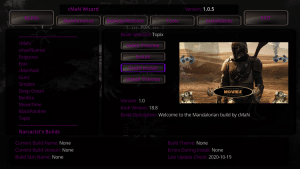 topix kodi build wizard