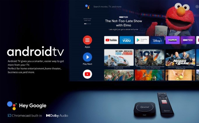 Android TV on Dynalink Android TV Box