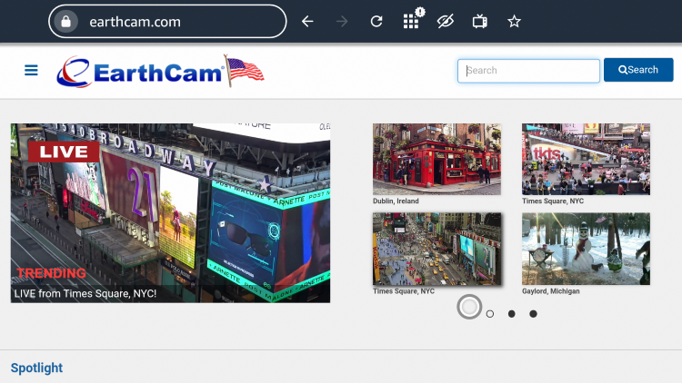 That's it! You can now access EarthCam using a web browser on any device.