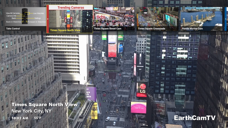 For these reasons and more, we have included EarthCam in our lists of Best Firestick Apps.