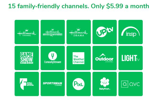 frndly tv channels