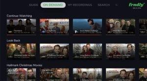 frndly tv on demand