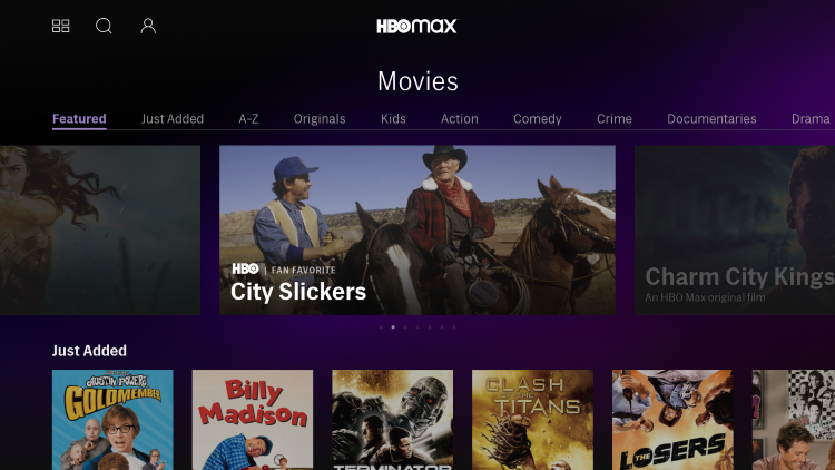 hbo max review movies