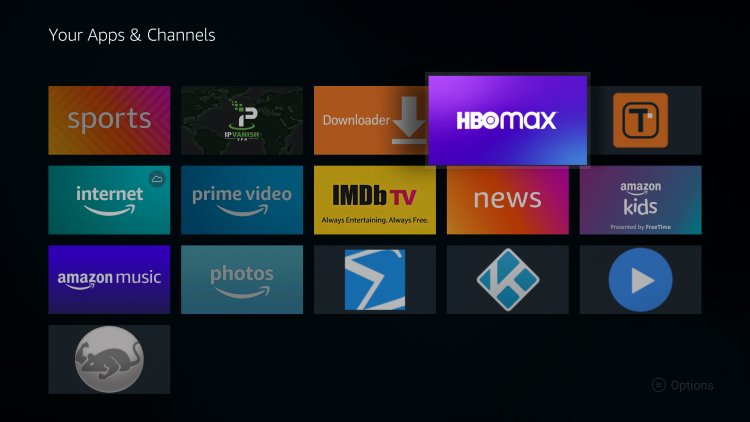 Place the app within your Apps & Channels wherever you prefer.