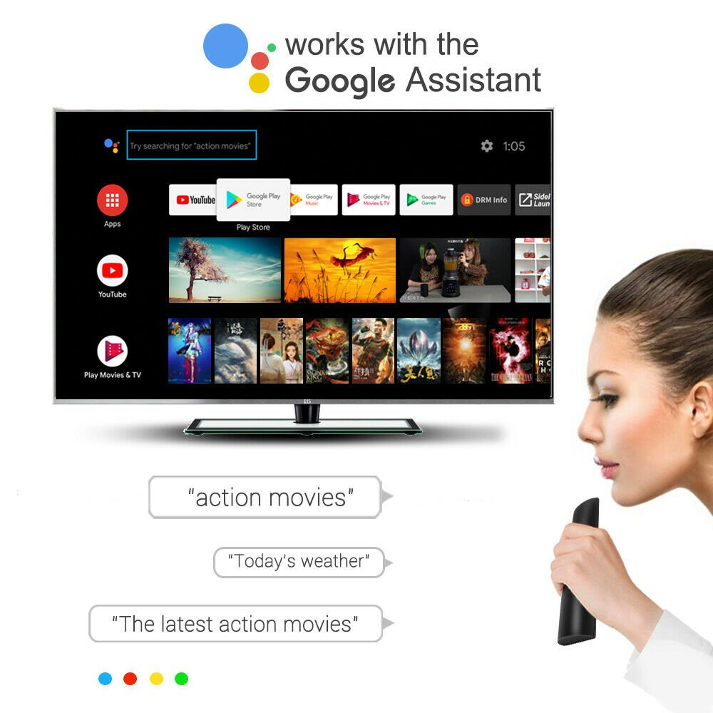 MECOOL KM9 Pro Honour with Android TV and Google Assistant