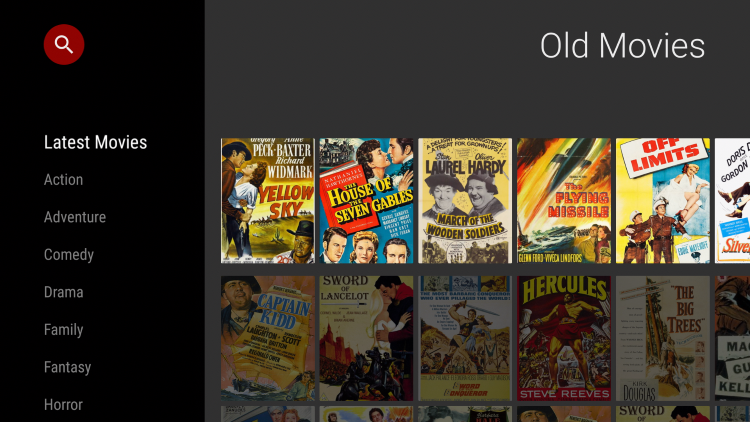 That's it! You have successfully installed the Old Movies App.