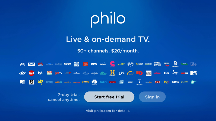 That's it! You have successfully installed Philo on your Android TV device.