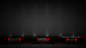 serene kodi build system