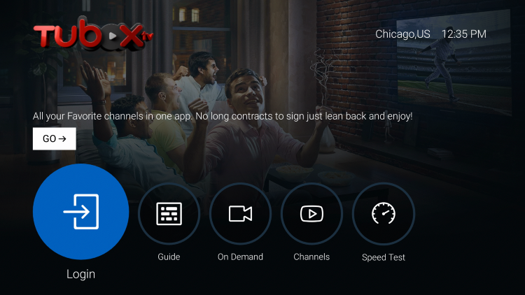 That's it! You have successfully installed TuboxTV on your Firestick/Fire TV.