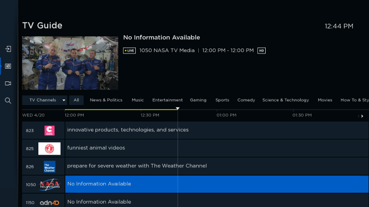 That's it! You have successfully installed TuboxTV on your Roku device.