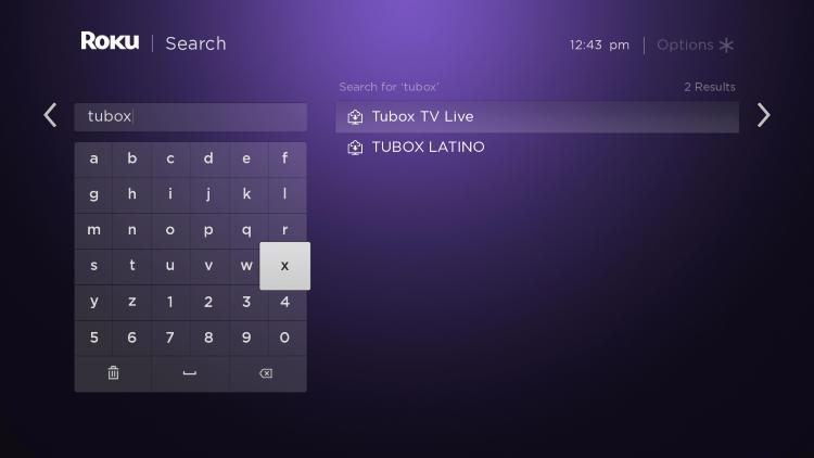 "Type ""tubox"""