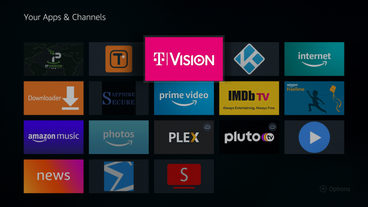 Place TVision within your Apps & Channels wherever you prefer