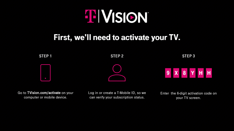 That's it! You have successfully installed the TVision app on your Firestick/Fire TV.