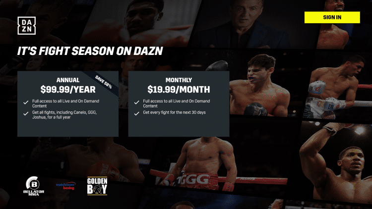 That's it! You have successfully installed the DAZN app on your Firestick/Fire TV device.