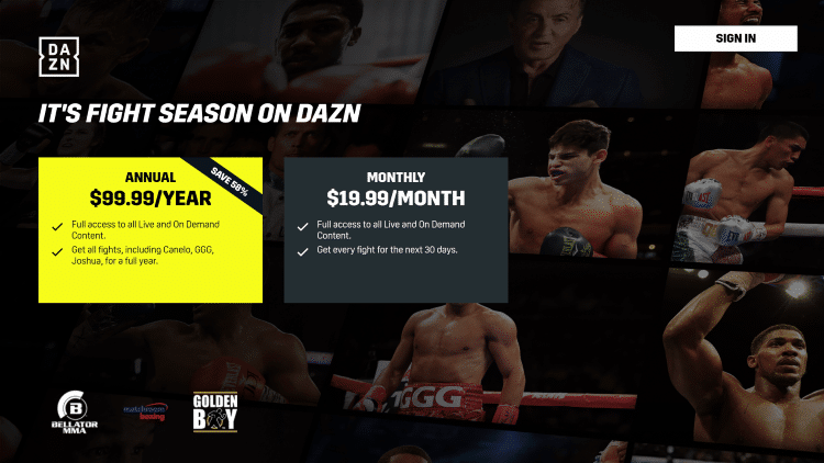 That's it! You have successfully installed DAZN on your Android TV device.