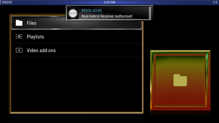 That's it! You have successfully integrated Real-Debrid within the Fabulous 50s Kodi Build.