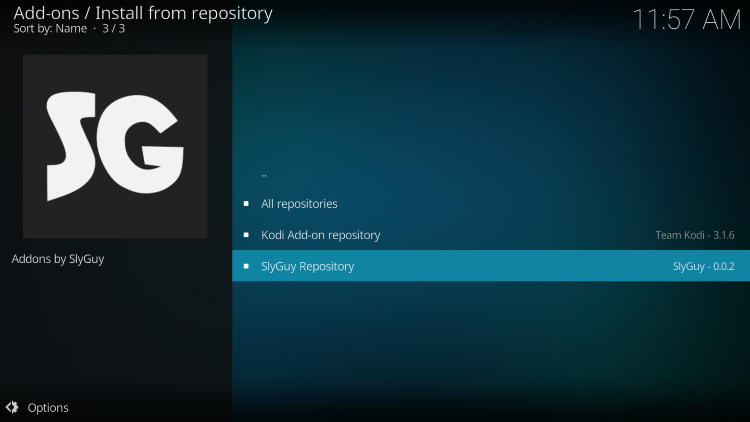 Click SlyGuy Repository