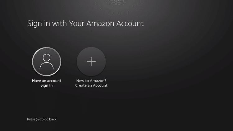 I already have an amazon account