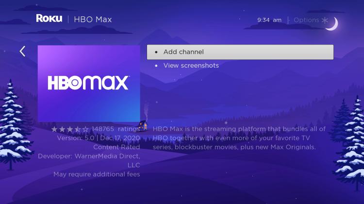 Choose Add channel