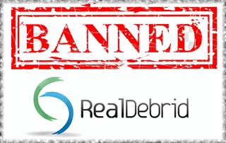 Real-Debrid Banned
