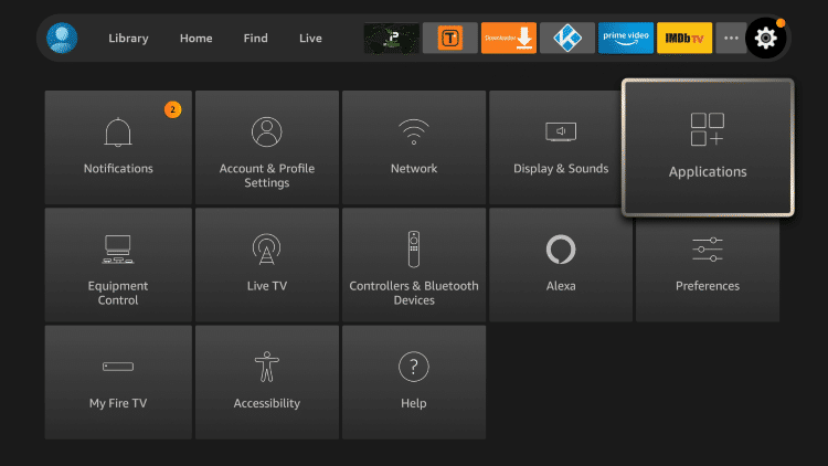 The following tutorial for clearing Kodi cache was done using an Amazon Fire TV Stick Lite.