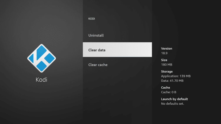 That's it! You have cleared kodi cache on your device