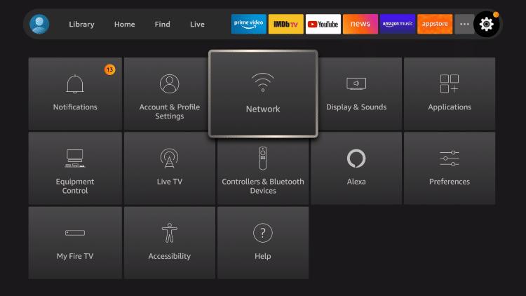 choose network