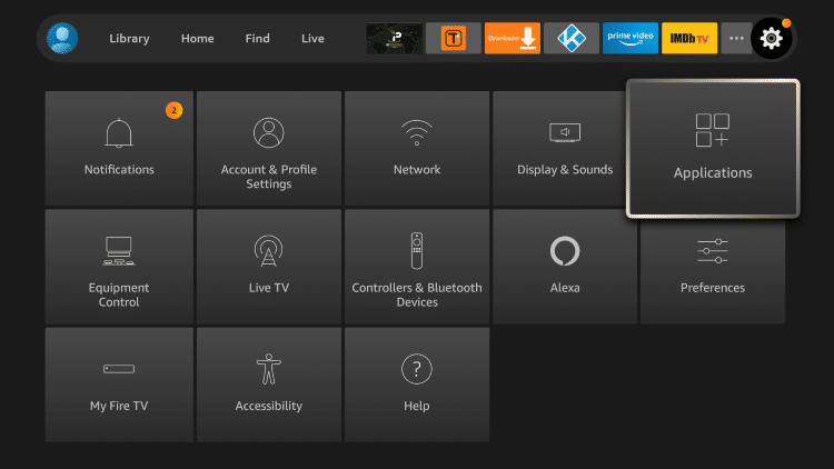 Below you will find the steps necessary to reset or restore Kodi on your Firestick/Fire TV.