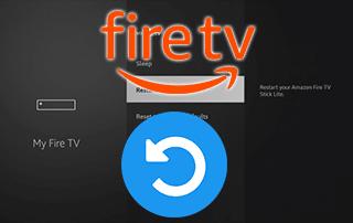 how to restart firestick