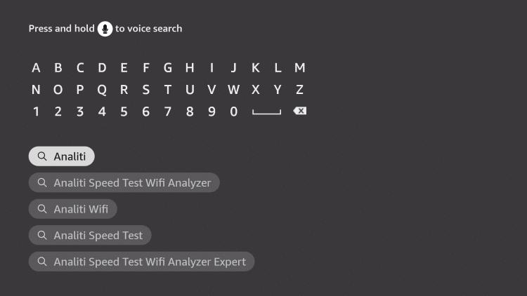 select analiti