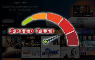test internet speed on firestick