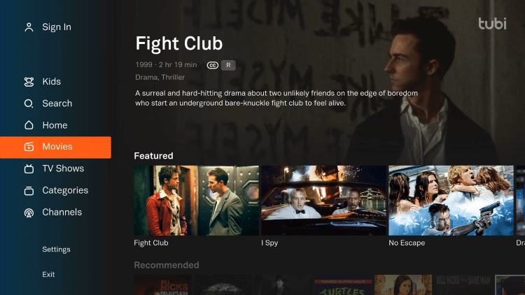 You can now access Tubi to stream Movies & TV Shows. Enjoy!