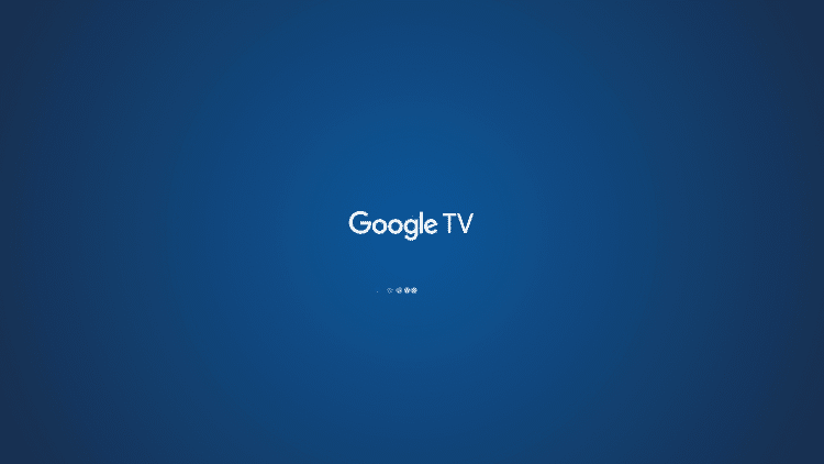 Click the home button on your remote and wait a few seconds for the launcher to load.