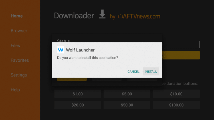 Click Install.