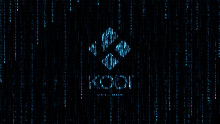 Relaunch Kodi 19 Matrix