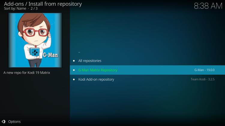 choose g-man repository