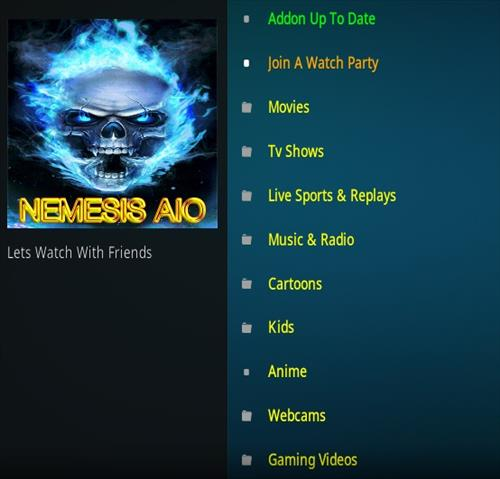 Refer to the Repository URL below for installing Nemesis AIO on Kodi 19.