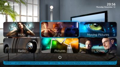 Similar to Kodi, MediaPortal offers 3rd party addons that will provide access to tons of features and tools.