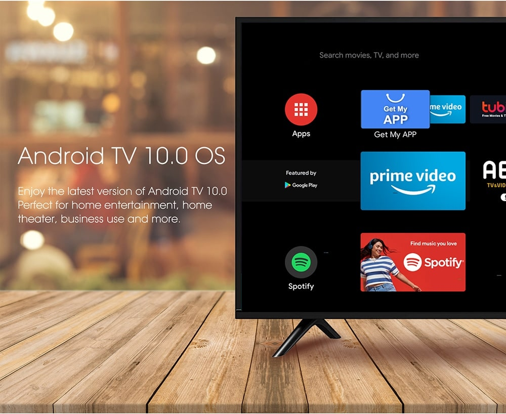 Android TV on MECOOL KM6 Deluxe