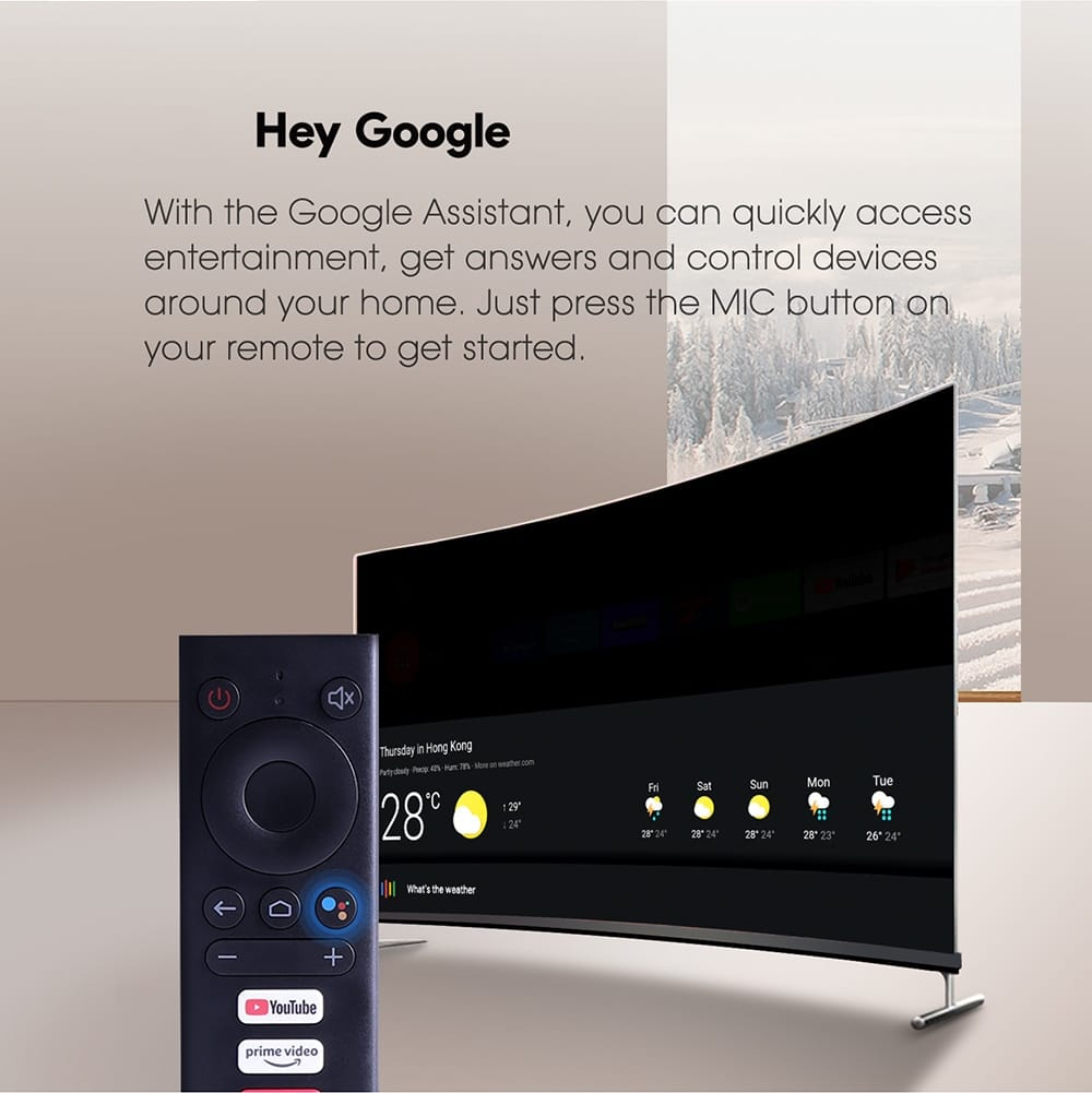 Google Assistant on MECOOL KM6 Deluxe
