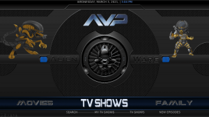 alienware kodi build tv shows