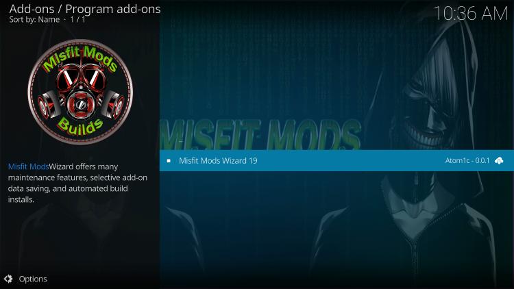 Select Misfit Mods Wizard 19