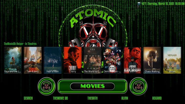 atomic matrix kodi build movies