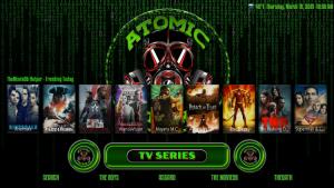 atomic matrix kodi build tv shows