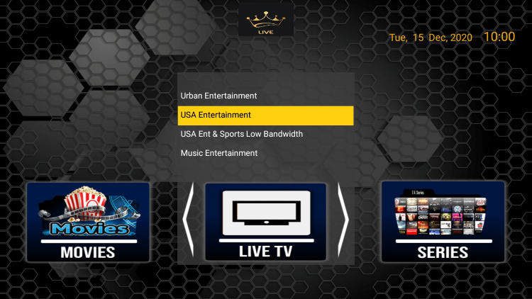 The Dynasty IPTV service offers over 6,000 live channels starting at $10.00/month with their basic subscription.