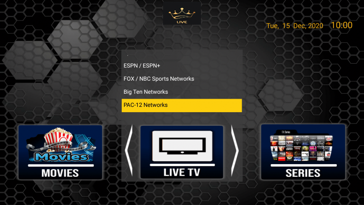 The Dynasty TV IPTV service hosts over 6,000 live channels and VOD options in HD quality.