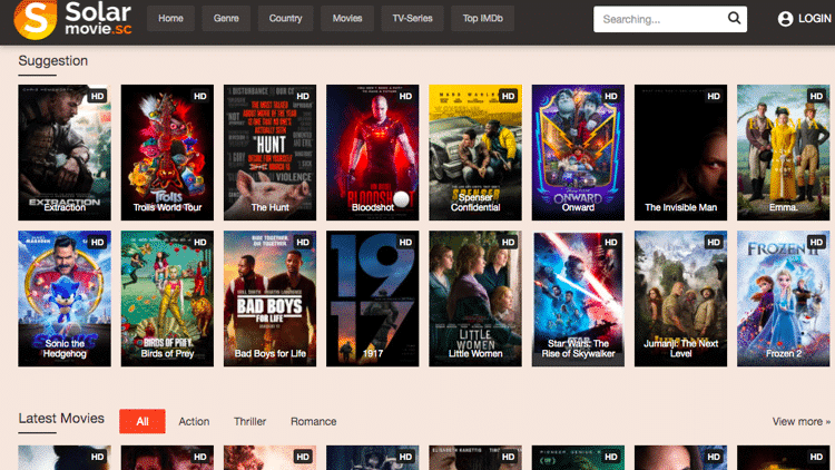 SolarMovie is one of the most popular streaming websites available for watching movies and TV shows online.
